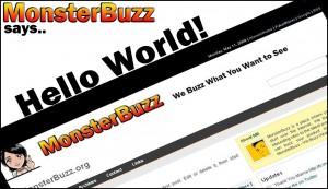 monsterbuzzsayshelloworld