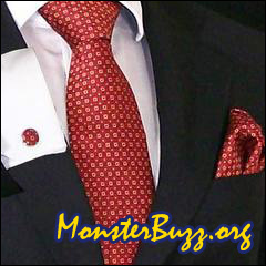 Men's Silk Tie in Red